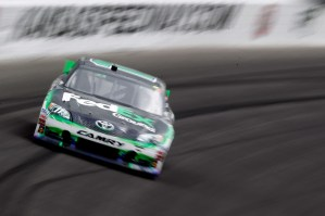 2012_Kansas_April_NASCAR_Sprint_Cup_Race_Denny_Hamlin_Races