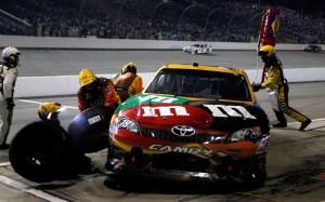 2012_Richmond_April_NASCAR_Sprint_Cup_Race_Kyle_Busch_Pit_Stop