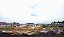 2012 New Hampshire July NASCAR Sprint Cup Turn 1 2 blur