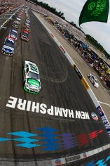 2012 New Hampshire July NASCAR Sprint Cup race start