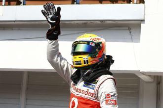 Lewis Hamilton at Hungarian Grandprix