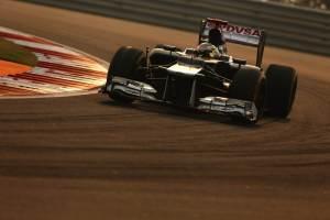 2012 Indian Grand Prix - Sunday
