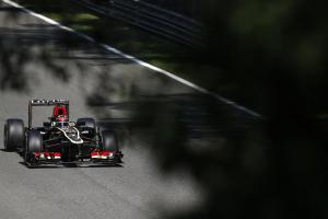 Autodromo Nazionale di Monza, Monza, Italy. 6th September 2013. Kimi Raikkonen, Lotus E21 Renault. Photo: Steven Tee/Lotus F1 Team. ref: Digital Image _14P0581