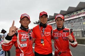 Super GT Fuji 2013 Yuji Tachikawa Kohei Hirate 2