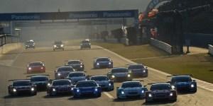 Super GT JAF Grand Prix Fuji Sprint Cup 2013 Day 2 GT500 Start