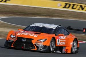 Super GT GT500 Eneos Sustina RC F Fuji Test 2014