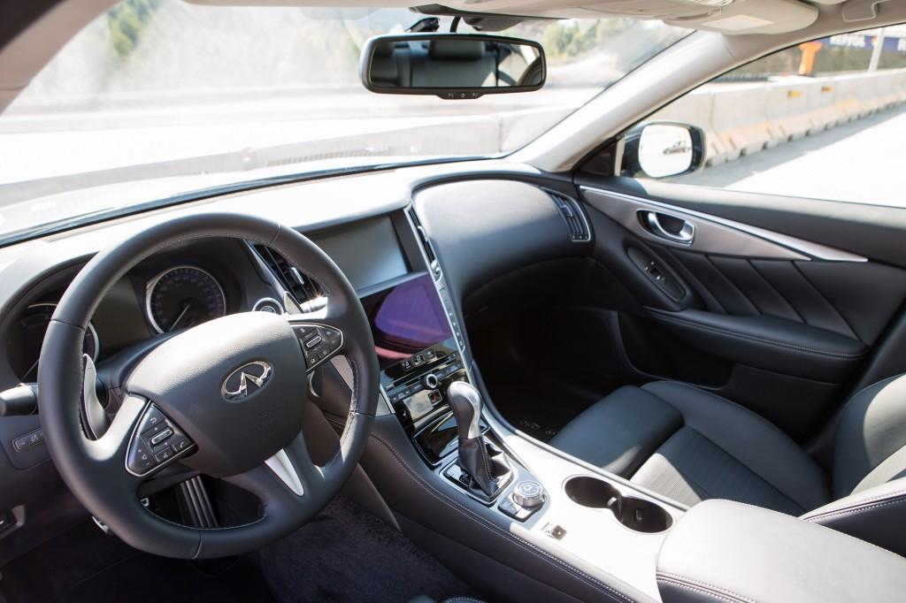 Infiniti Q50 Test Drive in Barcelona