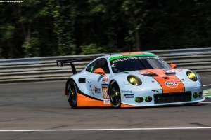 #88 ABU DHABI-PROTON RACING (ARE) / MICHELIN / PORSCHE 911 RSR / Khaled AL QUBAISI (ARE) / David Heinemeier HANSSON (DNK) / Patrick LONG (USA)Le Mans 24 Hour - Circuit des 24H du Mans  - Le Mans - France