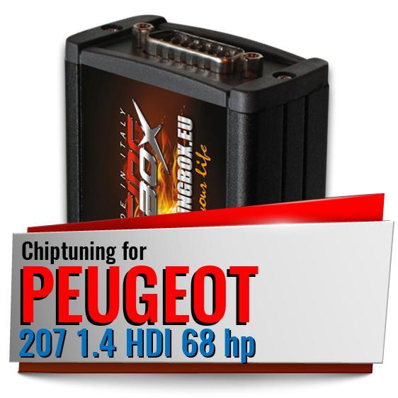 Chiptuning Peugeot 207 1 4 Hdi 68 Hp Racing Box