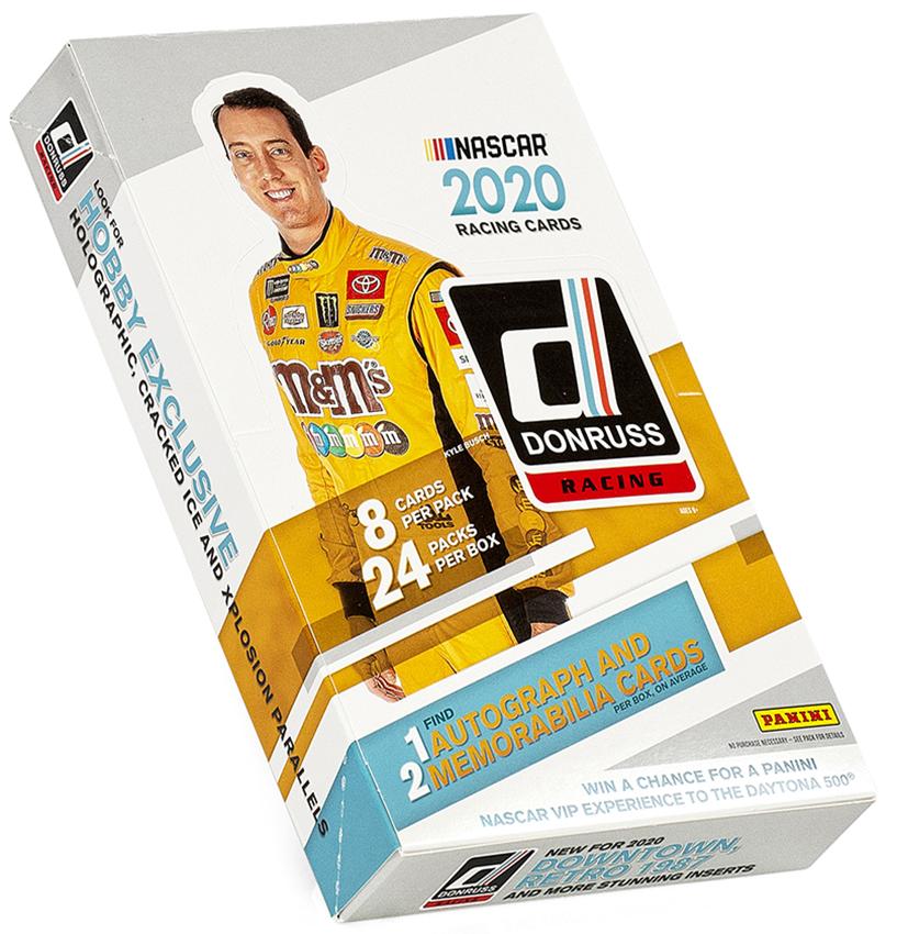 2020 Donruss Racing Box