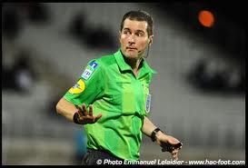 Stéphane JOCHEM, l'arbitre du match Racing contre Mulhouse