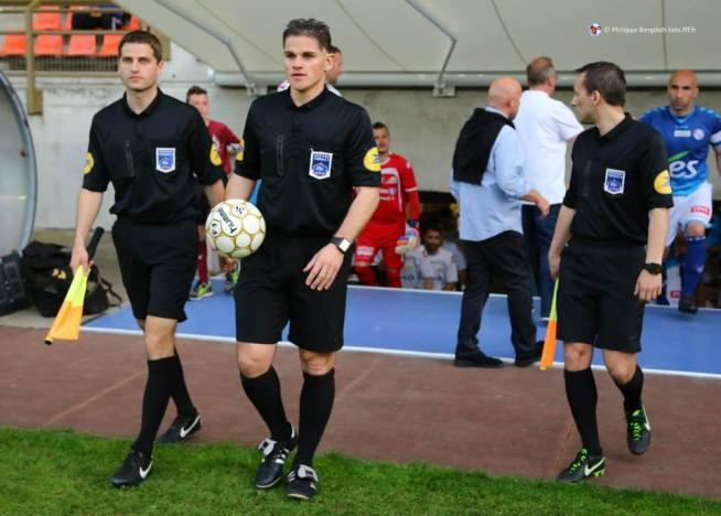 Stéphane BAR entouré de Yoann BENOIT et d'Elvedin CALAKOVIC