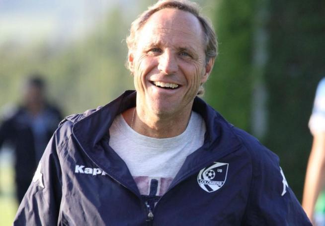 Dominique VEILEX, le nouvel entraîneur DE l'US Colomiers et qui arrive d'Uzès