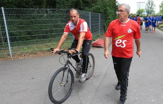 Sébastien Roi et Jacky Duguépéroux