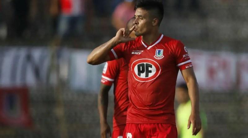 Brian Fernández en Chile.