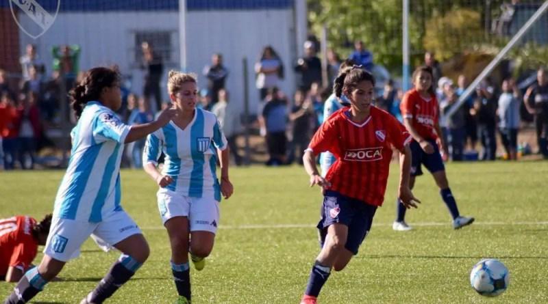 Racing recibió a Independiente en el predio Tita Mattiussi.