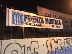Cartel apoyando a Mostaza Merlo