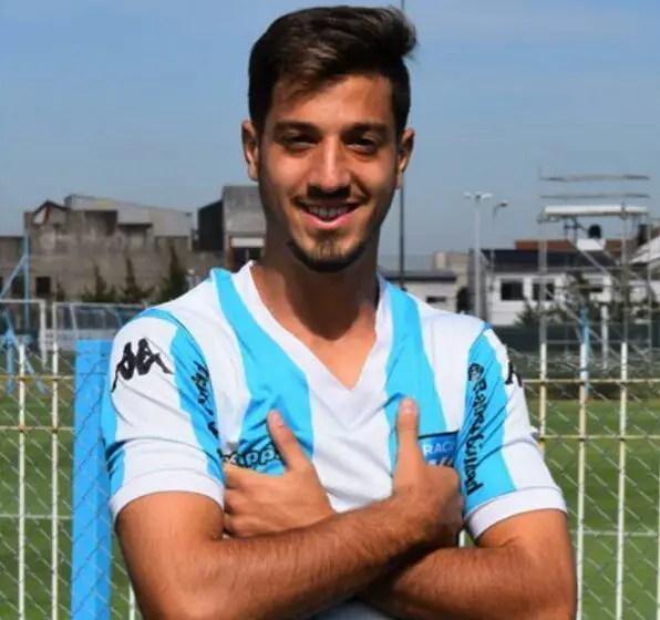 Fabricio Domínguez Huertas en Racing.