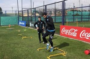Alejandro Donatti se repone de una lesión muscular.