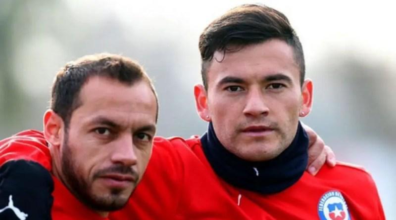 Aranguiz y Diaz en Racing