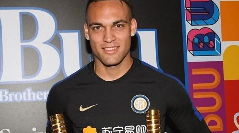 Lautaro recibió dos premios en el Inter