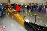 Burton brown's Bonneville streamliner.