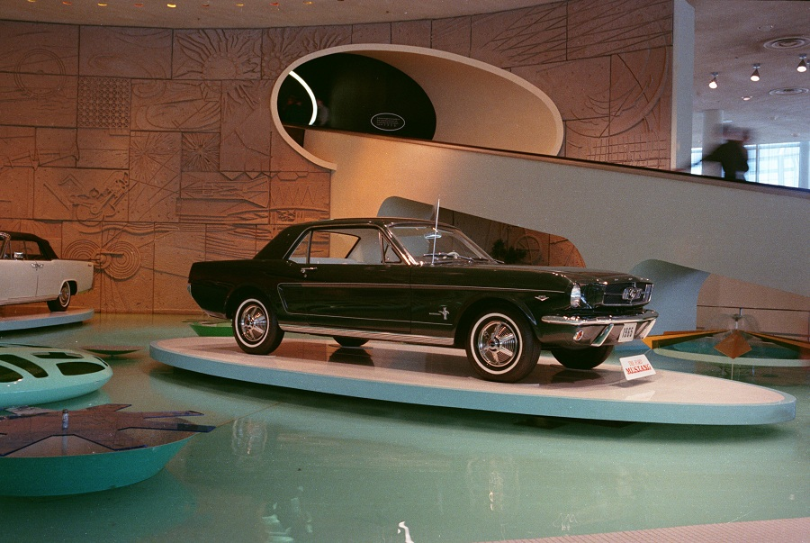 1964 World's Fair Ford Exhibit: 1965 Mustang