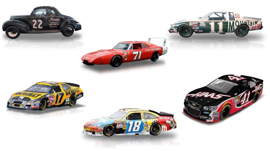Los coches de la NASCAR