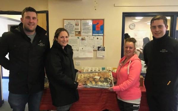 Huntingdon Racecourse delivering surplus food