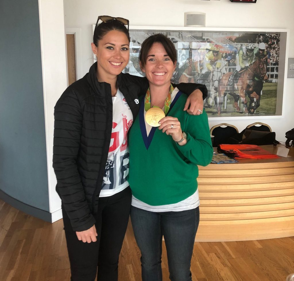 Sam Quek and Katie Walsh