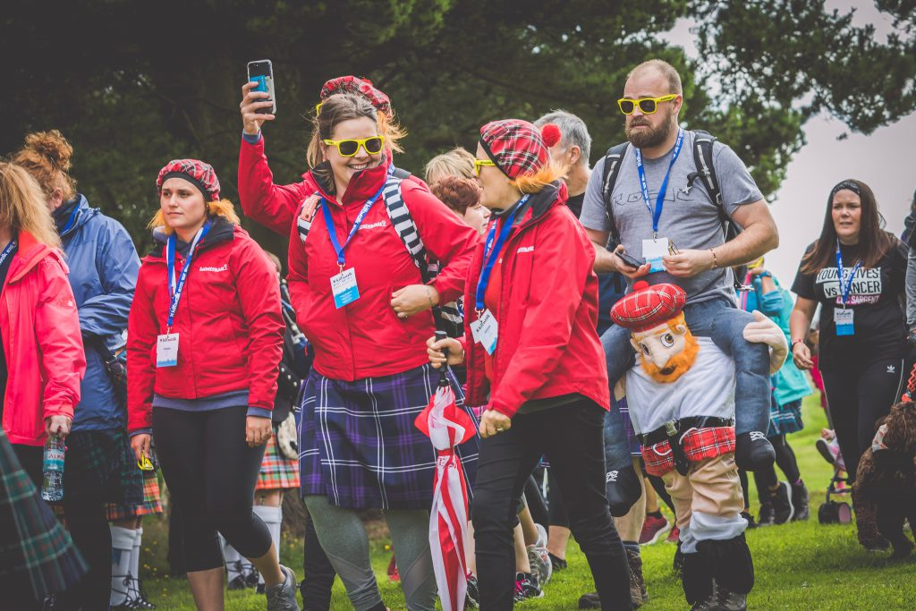 Kiltwalk Racing Welfare