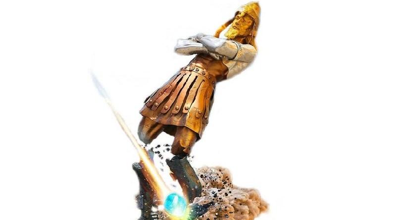 O futuro em uma estátua