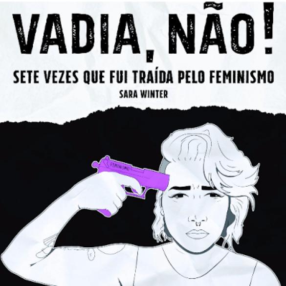 Capa do Livro de Sara Winter no qual ela luta contra o extremismo feminista