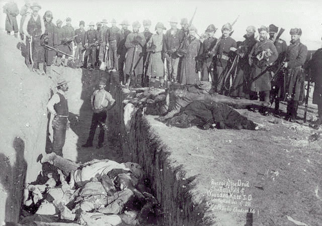 Image result for wounded knee massacre