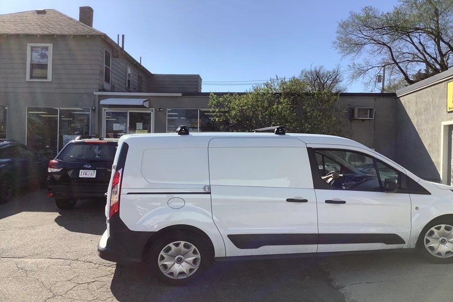 ford transit connect rack installation