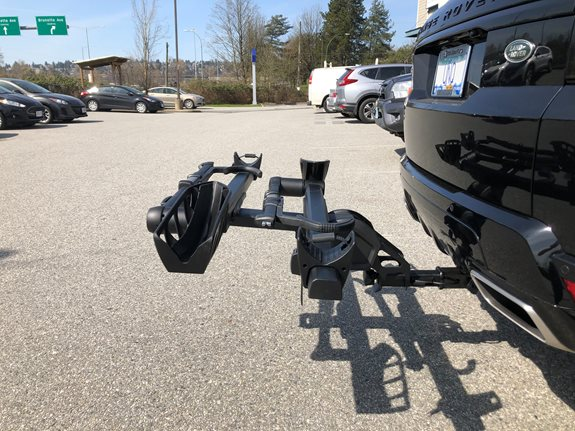 land rover bike racks