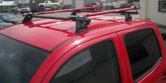 toyota tacoma std cab rack