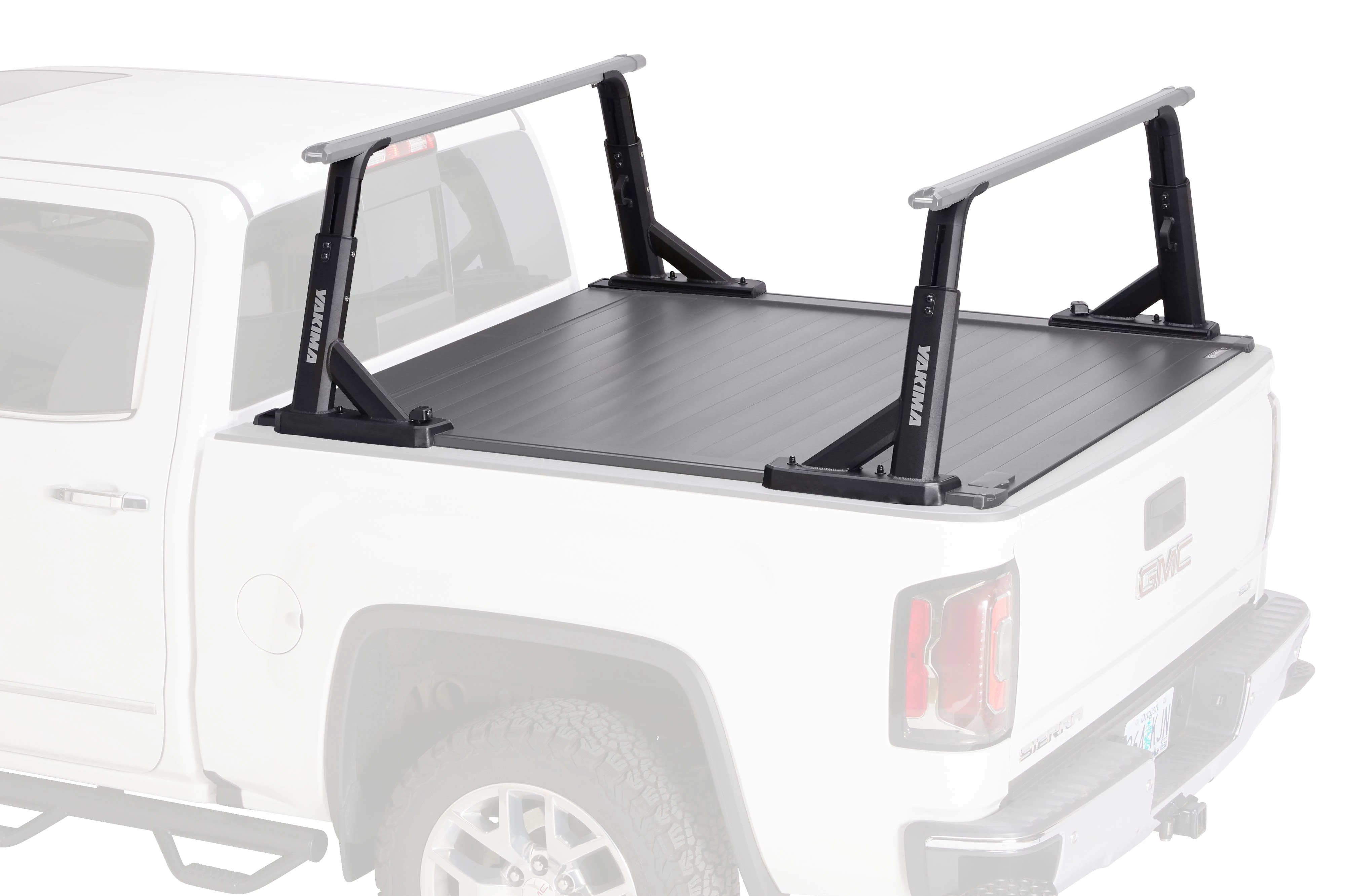 yakima overhaul hd tonneau set truck rack accessory