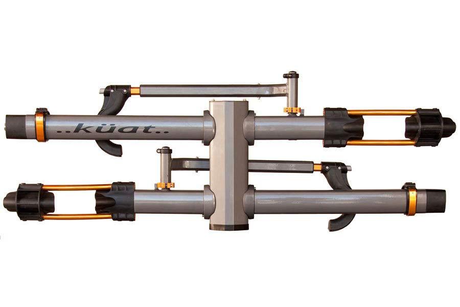 kuat nv 2 bike add on n103 gray bike rack