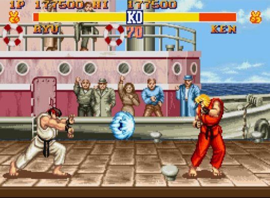 Games That Pushed The Limits of the Super Nintendo  SNES     Street Fighter II SNES Screenshot