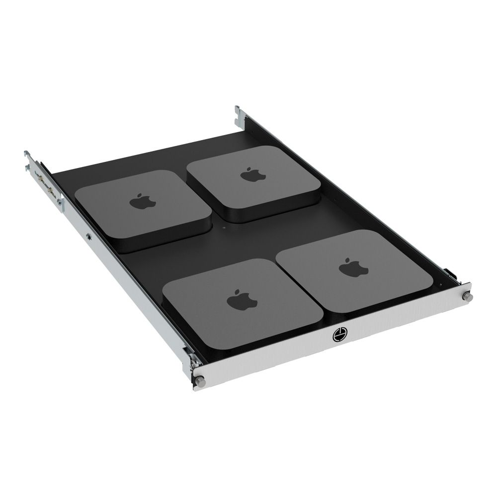 apple mac mini rackmount shelf