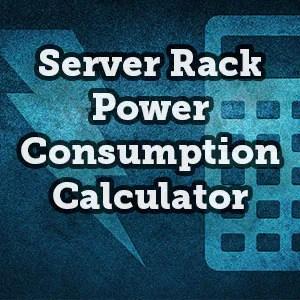 server rack power consumption