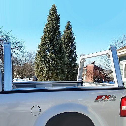 s4 system one i t s utility rig short bed pick up truck ladder rack