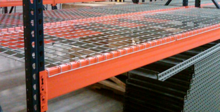 Wire Decking  Supplier of Wire Decks for Pallet Racking and Shelving     Wire Decking for 1 5 8   Step Beams   Rack Wire Mesh