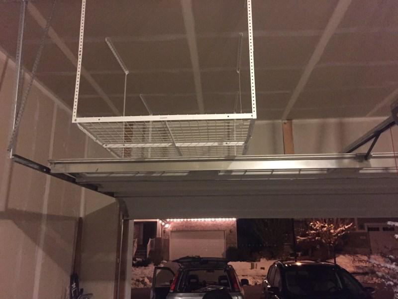 Overhead Garage Racks