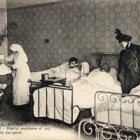 Les infirmières de la Grande Guerre, les « anges blancs»