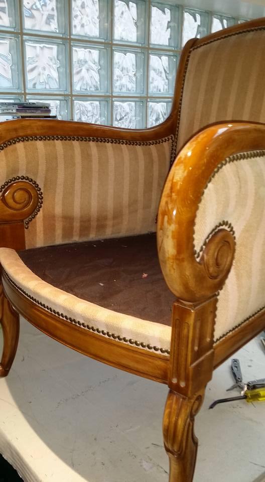 meubles anciens atelier tapissier