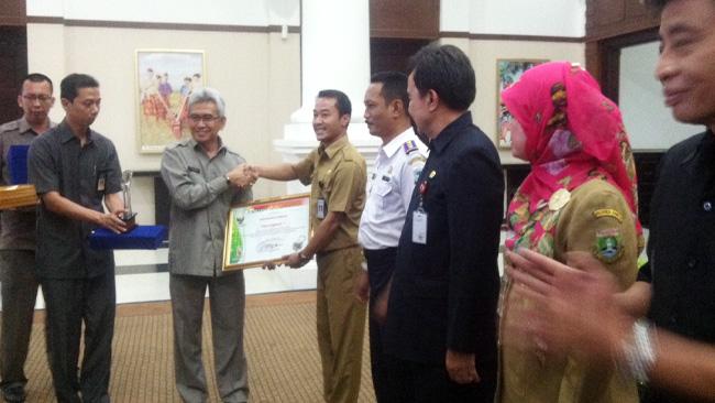 Penghargaan keterbukaan informasi Provinsi Banten