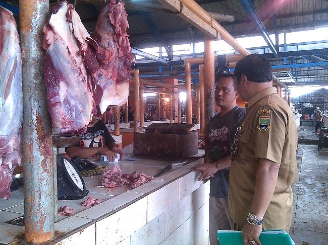 Kasie Perdagangan Dalam Negeri Disperindagkop Kota Cilegon Ikhsan Hasibuan