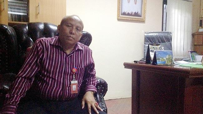 Kepala Disdagperinkop Kota Serang Akhmad Benbela